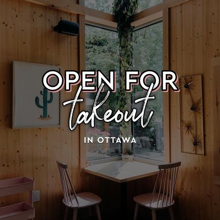 Cover of Coffee shops in Ottawa open for take-out