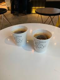 AMERICANO — Soooo fruity, flavours really developed and changed nicely as it cooled down! My bf and I really enjoyed this spot!
