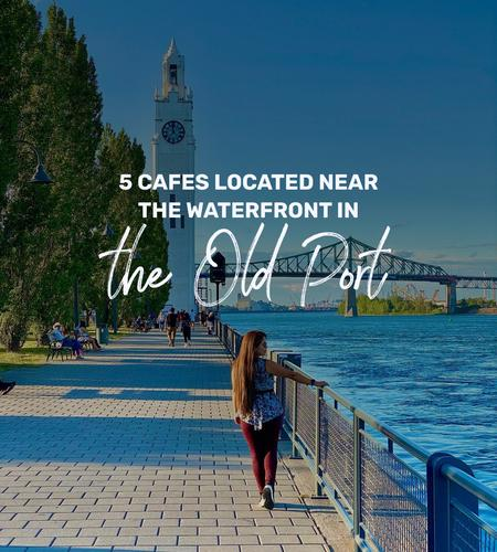 Cover of 5 cafes located near the waterfront in the Old Port
