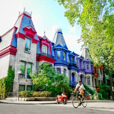 Cover of Cafes near Saint-Louis Square in Montreal