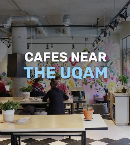 Cover of Cafes near the UQAM