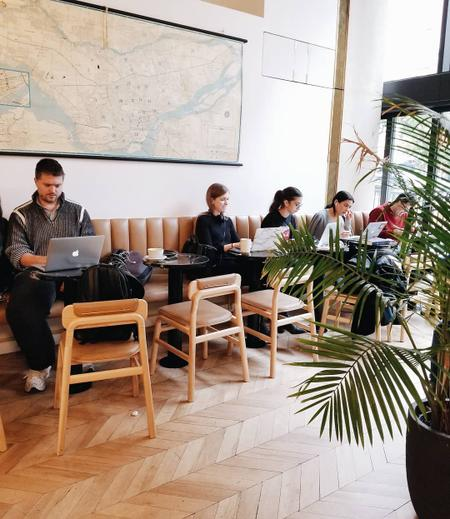 Cover of 6 Cafes to work near McGill University