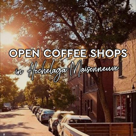Cover of Coffee shops open for takeout in HOMA