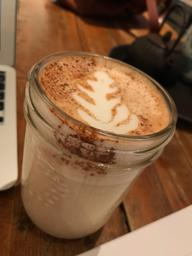 Amazing chai latte😍 Great spot for studying and love that they're open until 9pm!