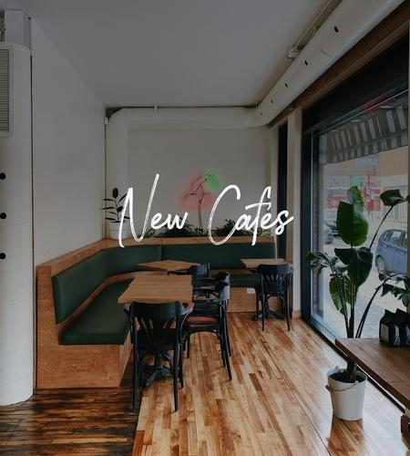 Cover of 5 New Cafes To Visit