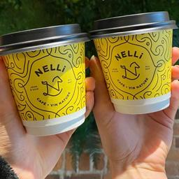 A couple cappuccinos from Nelli Café at Hotel Nelligan!