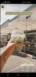 2$ lattes/drinks on Mondays at Studio 77 when I went 2 weeks ago 🙌