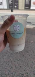 Great iced latte, friendly staff! :)