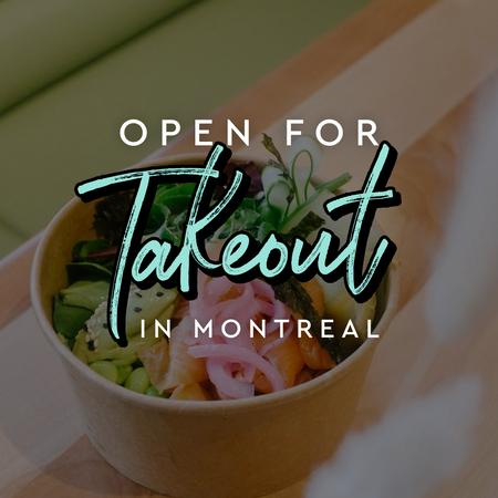 Cover of Coffee shops in Montreal open for take-out during quarantine