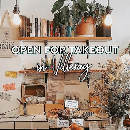 Cover of Coffee shops open for takeout in Villeray