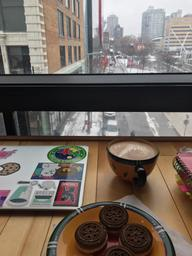 Best study place in Mtl. Friendly staff, good coffee and pastries!
