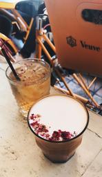 Hibiscus chai—phenomenal!