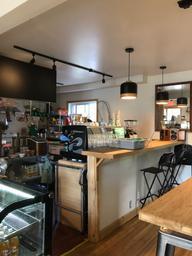 Bel espace et bon café! ❤️
