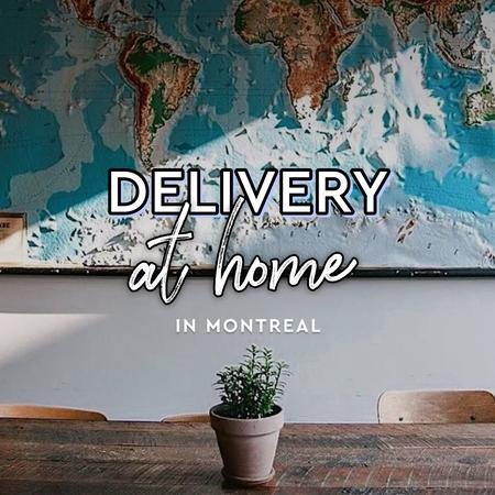 Cover of Coffee shops in Montreal offering home delivery