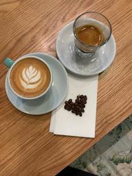 Gotta love Monopole's coffee!