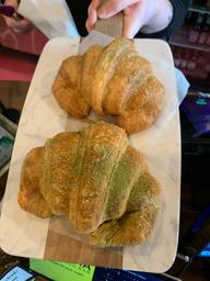Matcha croissants to die for #aloha
