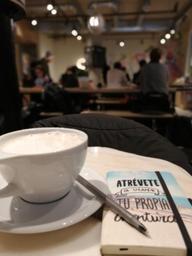 Chaï Latte du début d'hiver❄️ #I❤️COFFEE #WINTER2019 #COFFEEPLACE
