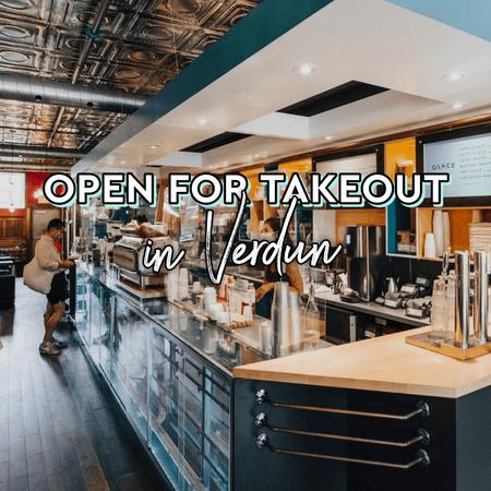 Cover of Coffee shops open for takeout in Verdun