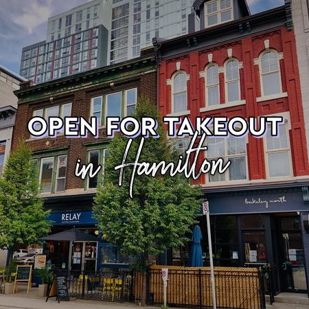 Cover of Coffee shops in Hamilton open for take-out