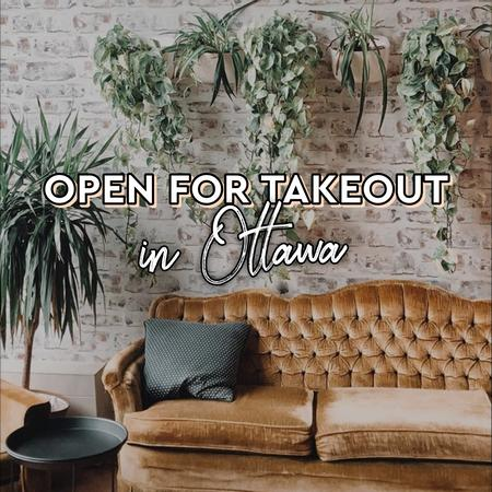 Cover of Coffee shops open for takeout in Ottawa