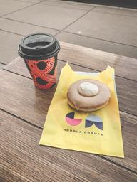 You can't go wrong with a coffee & donut!