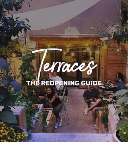 Cover of Terraces in Montreal - The Reopening Guide