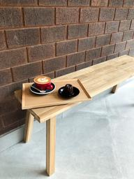 The minimal design makes this place so cozy! Paired with the coffee ofc!