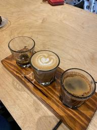 Great coffee flight!
