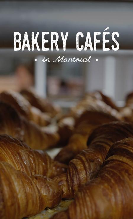 Cover of The Best Bakery Cafés in Montreal