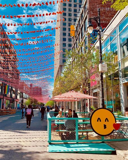 Cover of 6 excellent cafes in the Village in Montreal
