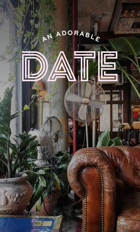 Cover of Best coffee shops for an adorable date💕