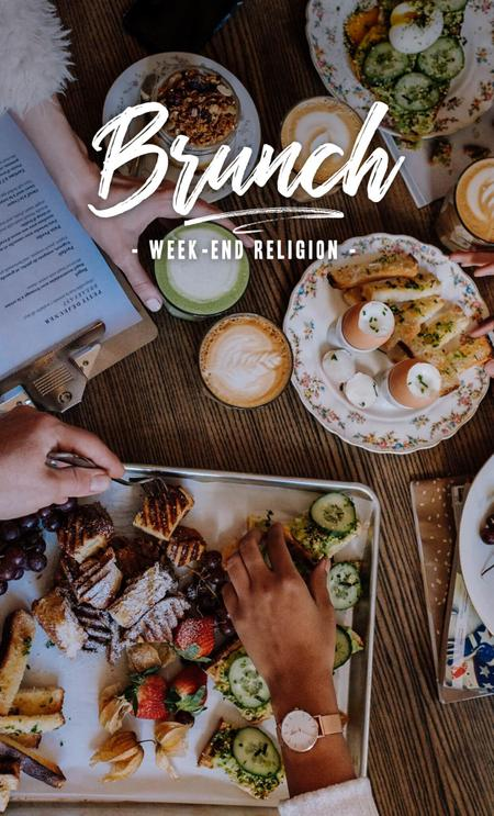 Cover of The Best Cafés for Brunch 🍳