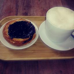 Une odeur de ciel dans le café! Tout est wow!