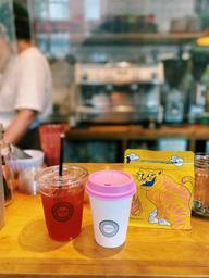 Their limonade is also refreshing! + cute coffee bag