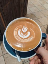 Latte is a must 😍