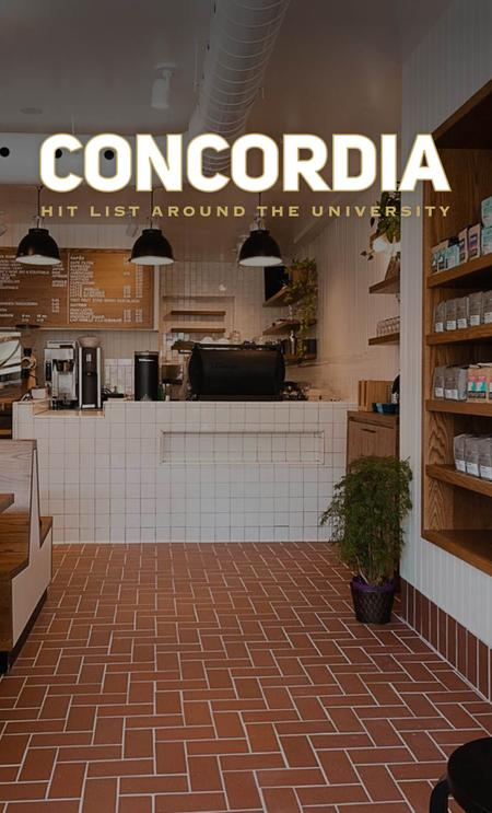 Cover of The Best Cafés Around Concordia