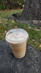 Quand il est fait à la perfection,👌 jamais trop froid pour un latté glacé! ❄️