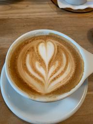 Creamy cappuccino, but bitter espresso