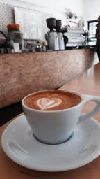 One of my favorite cafes good choice coffee if you like it black or with milk