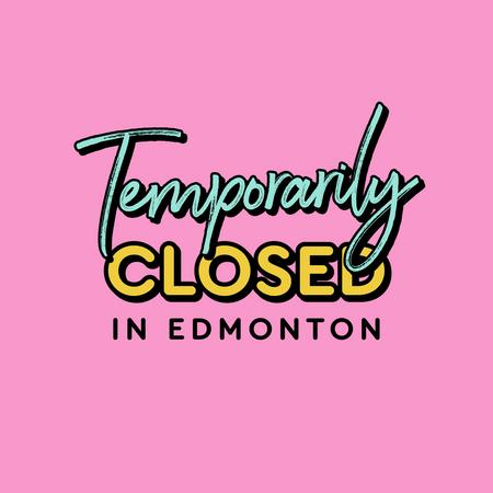 Cover of Coffee shops in Edmonton closed during the quarantine
