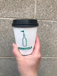 Mon flatwhite préféré du moment ! Qu'est-ce qu'il est bon ce café !!