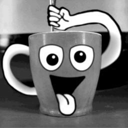 Bonne journée même à tous ceux qui n'ont pas encore été chez Mlle Café 🤔