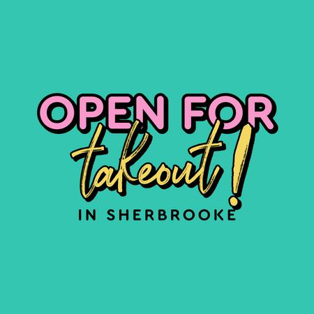 Cover of Coffee shops in Sherbrooke open for take-out
