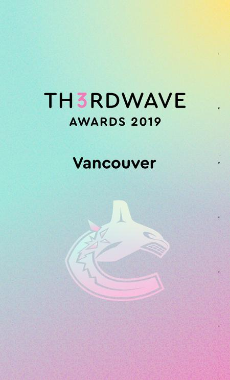 Cover of Th3rdwave Awards 2019 • Vancouver