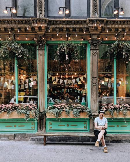 Cover of Cafes to visit for a nice coffee crawl in the Old Port of Montreal