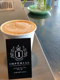 Cappuccino du Burundi d'une qualité hors du commun ...merci Impérial !!!