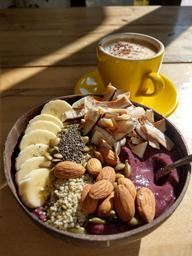 Nothing beats an excellent açai bowl and coffee for breakfast!