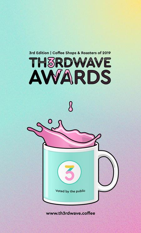 Cover of Th3rdwave Awards - 3rd Edition | Coffee Shops & Roasters of 2019