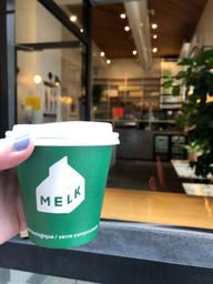 Flat white et lait de macadam - hell to the YES!!