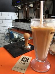 Perfect iced latte for the day
